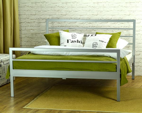 Łóżko metalowe Simply dwa szczyty