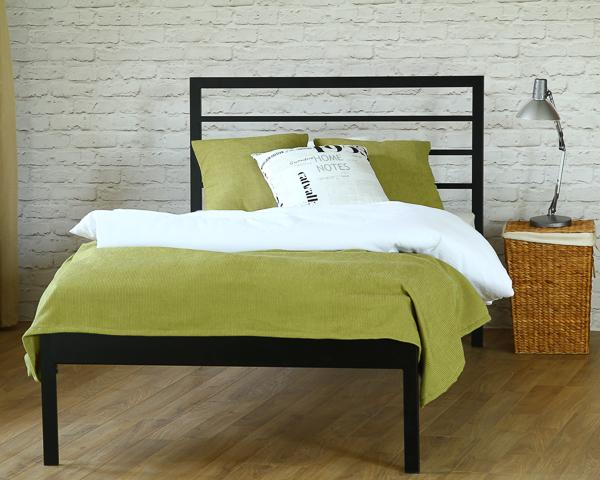 Łóżko metalowe Simply jeden szczyt